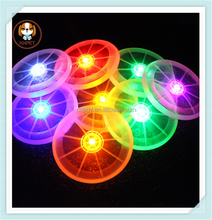 2015 New High Quality TPR LED flying toy dog frisbee for trainning,pet dog toys