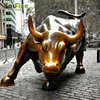 Famous New York Wall Street Life Size Bull Statue