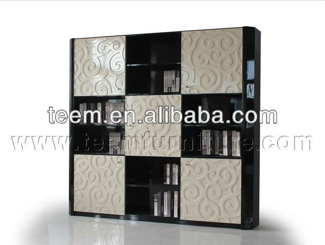 2014 Divany new classic cheap bookcases reading room furniture LS-639