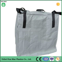 Black High quality pp jumbo big bag with PE liner/ bulk bag for flour