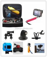 Accessories Gopros kits for Gopros heros 4/3, accessories for Gopros camera,