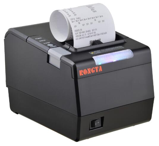 80mm serial wireless food order receipt printer with flash light alert optional RP850