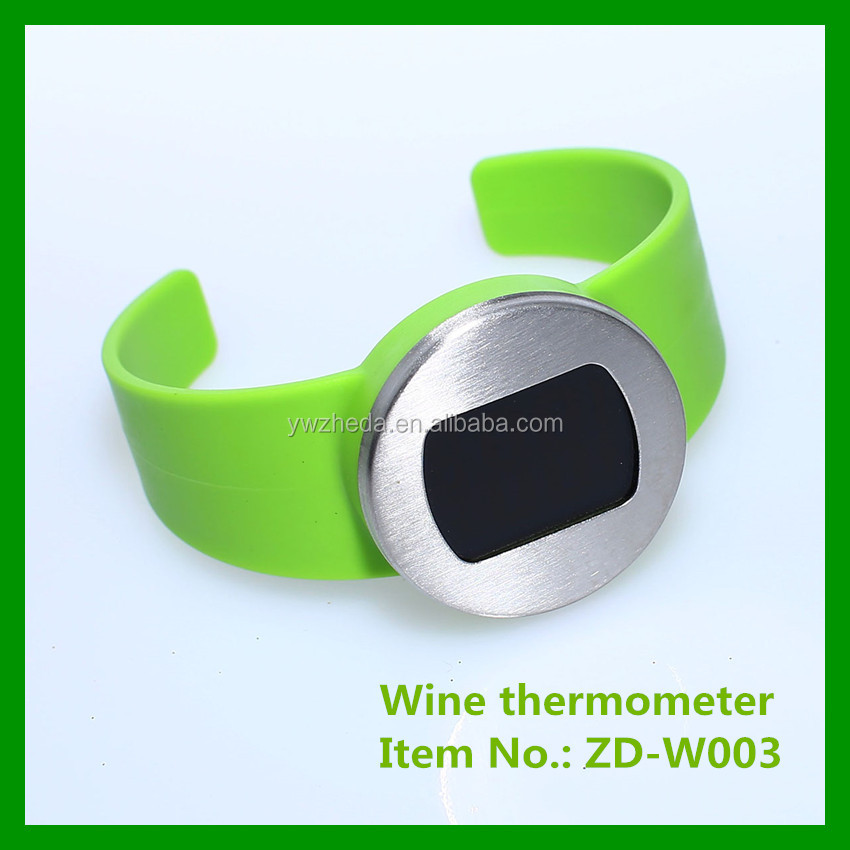 Watch style LCD Digital household Wine thermometer