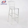 China wholesale transparent acrylic chiavari high bar chair for price