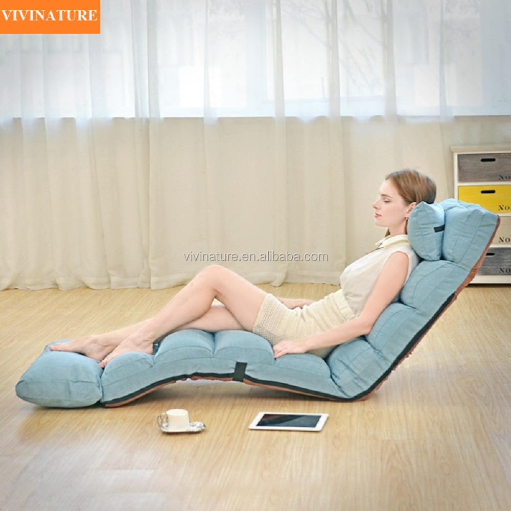 Adjustable Single Folding Legless Comfortable Sofa Bed