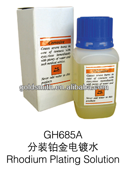 Rhodium Plating Solution , jewelry making equipment