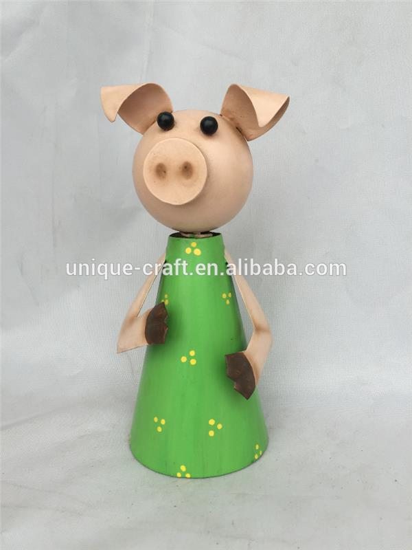 2016 cheap price Metal Pig for home Decoration