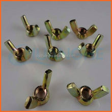 Factory price inner thread wing nuts