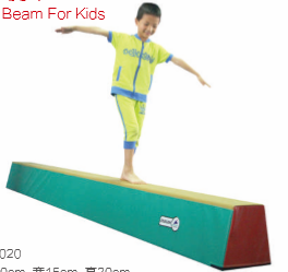 Popular hottest soft children and kids training gymnastics balance beam