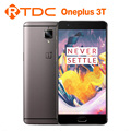 "Oneplus 3T 128G Original dual 4G LTE Snapdragon 821 Android 6.0 5.5"" 16MP 3400mAh NFC Fingerprint mobile phone"
