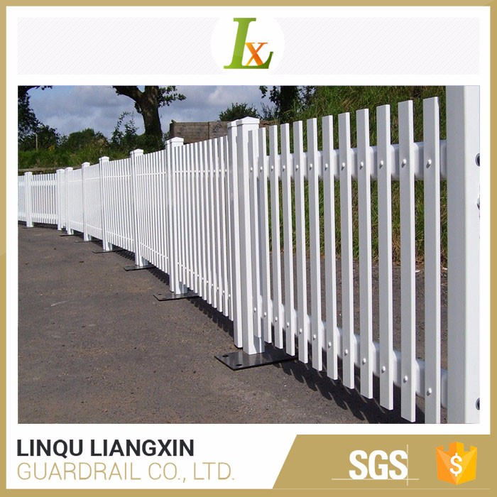 Competitive Price Cheap White Plastic Trellis Fence Panels