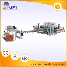 Modern Saving space design best sell pvc sheet extrusion machinery