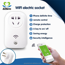 wireless remote control electrical smart wifi intelligent power socket outlet switch 240v 230v