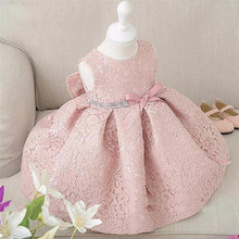 2018 Wholesale children tulle dresses Summer flowers Big bowknot kids tutu dresses baby girls dresses