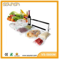 Fashion Design CE RoHS Vertical Household Eletric Packing Machine Vacuum Food Sealer