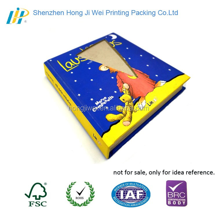 CMYK printing interesting educational preschool English books with perfect binding