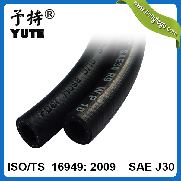 manufacturer supplier diesel injection pump parts fuel hose 5mm 3/16 inch sae j30 r9