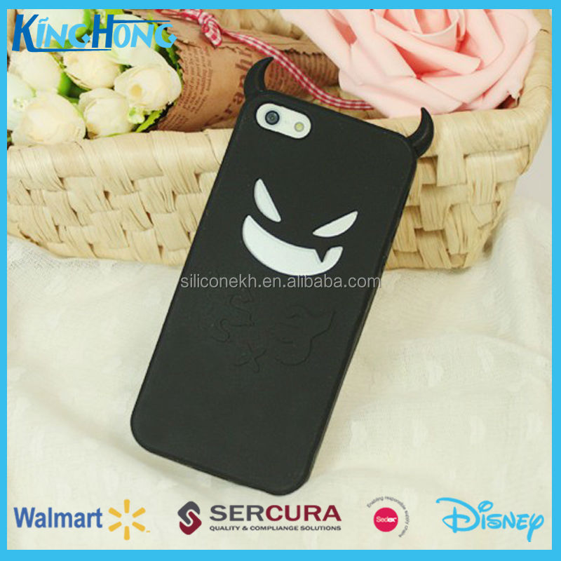 2014 new mobile silicone phone case for iphone5, sedex audit factory