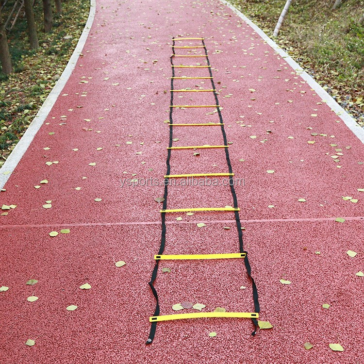 Outdoor Sport Durable 13 rung 7M Agility soccer training Ladder