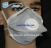 activated carbon filter dust mask with FFP standard