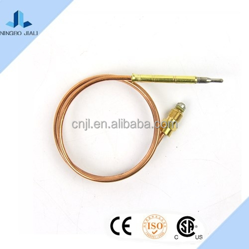 Copper thermocouple for gas cooker