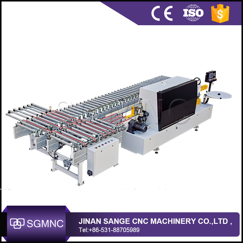 Edge automatic swing line , automatic edge banding machine for melamine