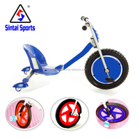 2016 hot sale blue Rip Rider 360 Difting kids 3 wheel scooter