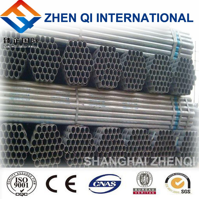 Round galvanized steel pipe Build green house for fruit/vegetable