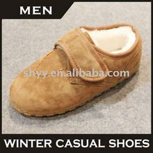2014 men loafers classic design slipper men leather slipper