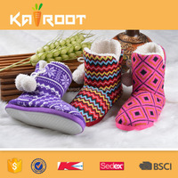 fancy colourful russia winter boots for women