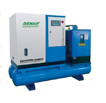 With air tank, air filter, air dryer compressor