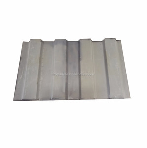 4 or 5 Corrugated Zinc Grey Dry Shipping Container Front End Panel