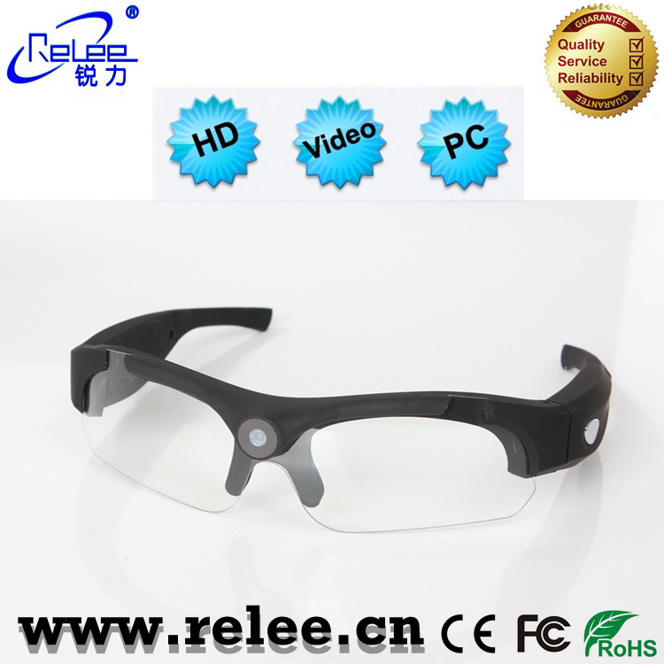 Sports camera video sunglasses FHD wide angle view eyewear outdoor video recording dvr action camcorder