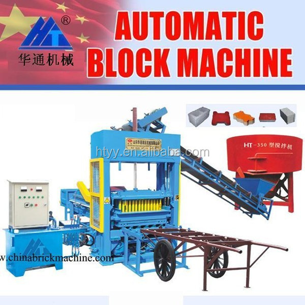 Brick Molding Machine Processing and Concrete Brick Raw Material Stationary Concrete Brick Making Machine