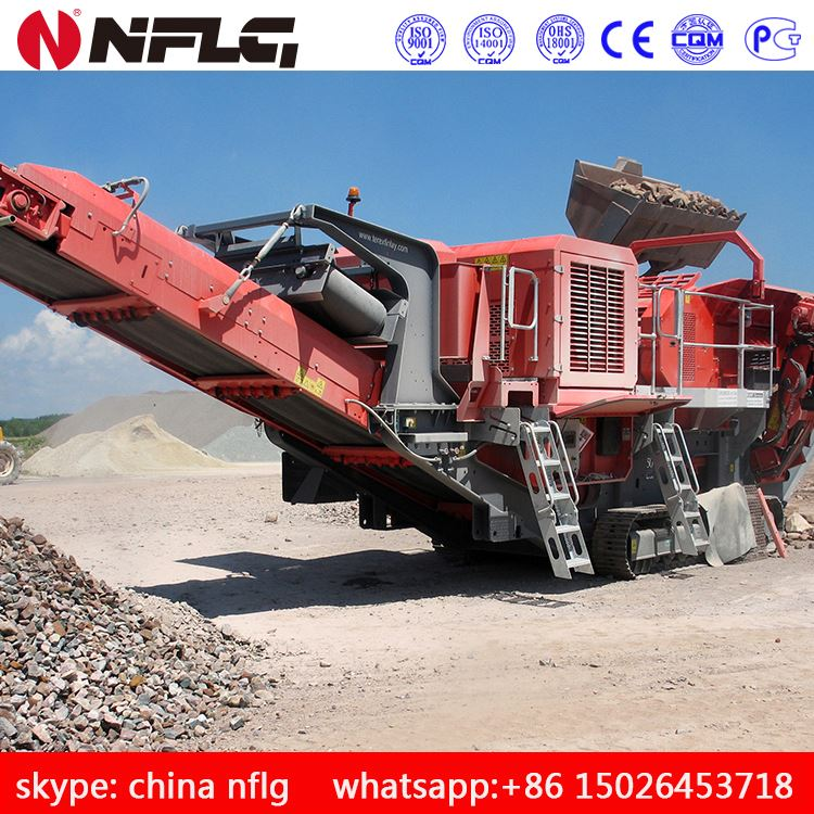 2016 hot selling product diesel engine stone crusher with technical expert team