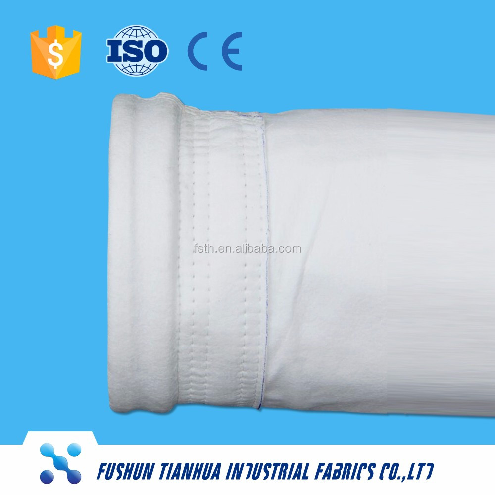 China manufacture Anti-abrasion Dust Collector Filter Bags Cement Filter Bags