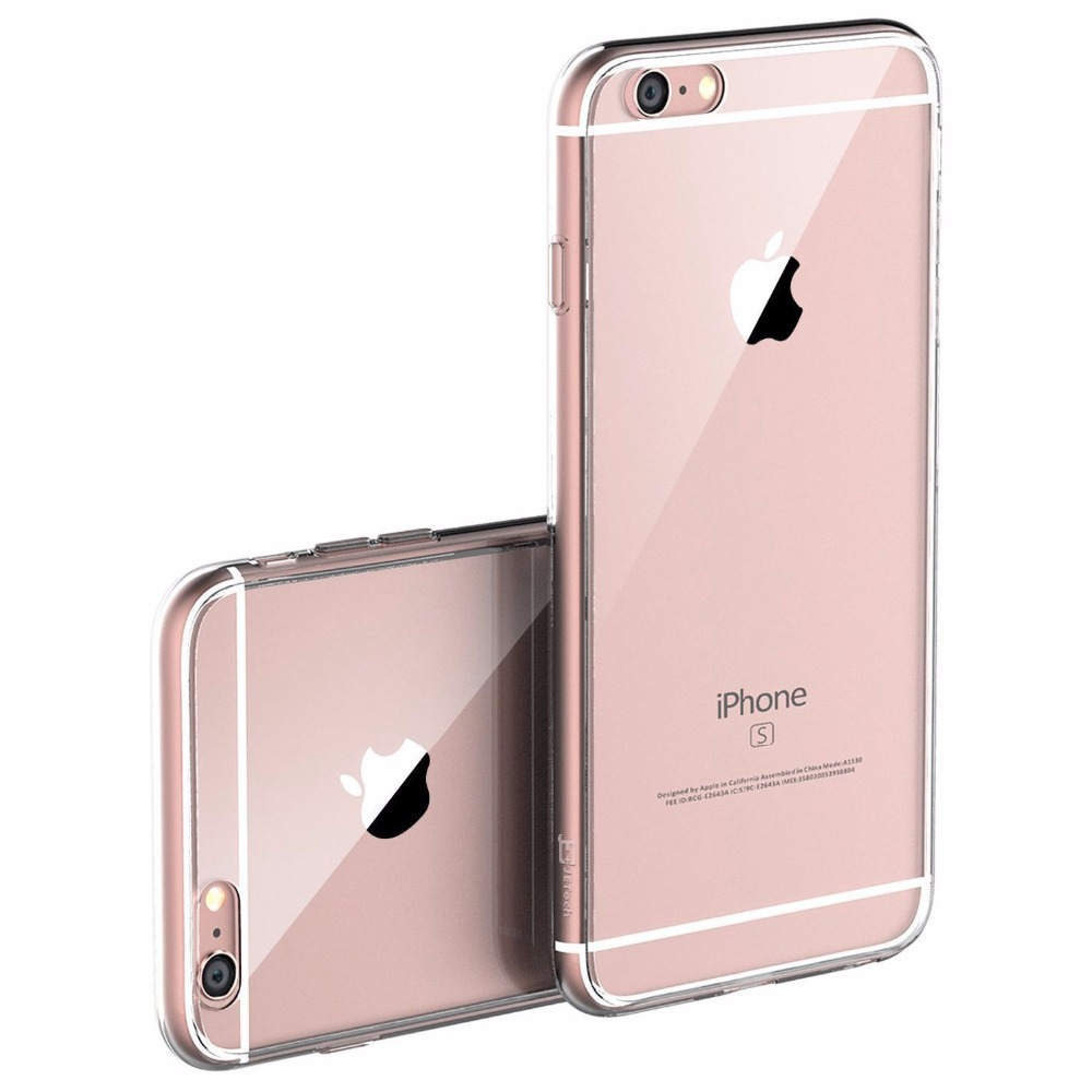 ultra thin tpu transparent case for iphone