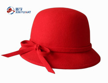 100% wool high quality winter wool felt bucket hat