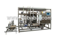 Flowing pasteurizer