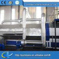 2014 Hot selling custom Continuous recycling machine waste tyre pyrolysis plant