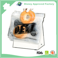 Plastic Micro-perforated Packaging Zip lock wicket bag for food