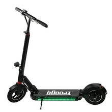2 wheels adult portable foldable electric scooter with LED and Bell