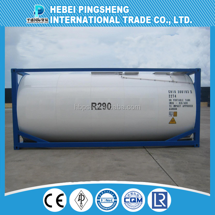 High purity refrigerant propane R290 gas price,( also provide : R134A / R404a / R407c/ R417a/R600a/R406a/R290/R141b/R402b/R500/R