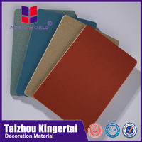 Alucoworld self cleaning Nano-PVDF coating acm reflection aluminum composite panel acp in philippines