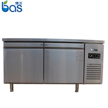 500L Kitchen Work Bench high quality counter freezer performance pizza prep table