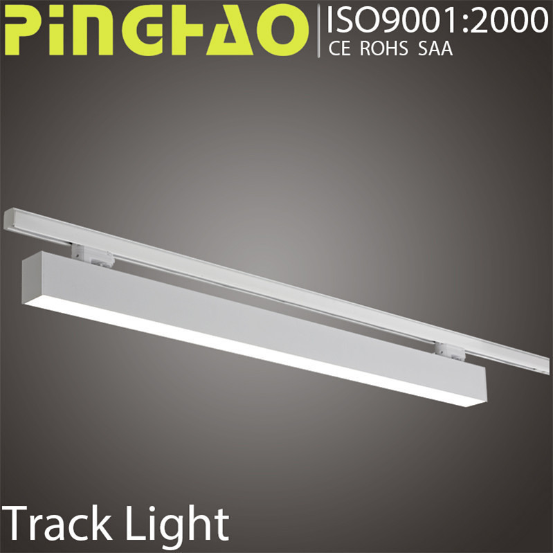 office track lamp CE RoHS approval super bright spot 20w 30w 40w wholesale cheap commercial led track light