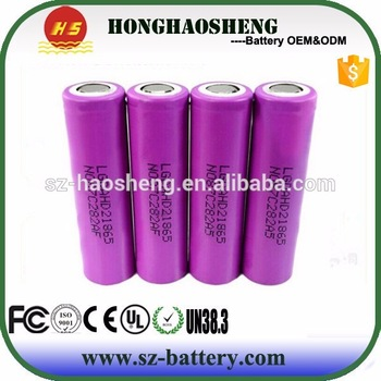 Good discharge 18650 lithium battery pack deep cycle recharge 3.7v Li-ion battery 2000mah