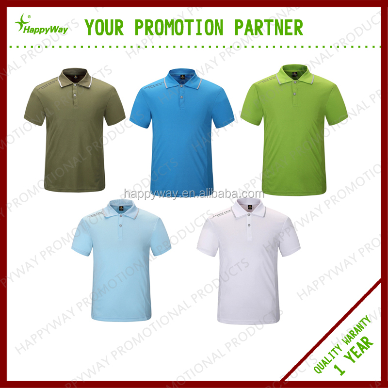 Microfiber QUICK-DRY Polo Shirt, MOQ 100 PCS 1102024 One Year Quality Warranty