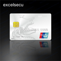 2016 Hot Sale SLE4442 Bank Credit PVC Plastic Cards