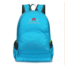cheap price lightweight foldable polyester children waterproof backpack